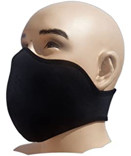 YiJee Draussen Fahrrad Balaclava Maske Staubdicht Warm Gesichtsmaske K/älteschutz