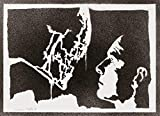 Poster Alien Xenomorph E David Handmade Graffiti Street Art - Artwork