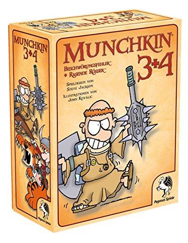 Pegasus Spiele Munchkin 3+4: Beschwörungsfehler / Rasende Rösser