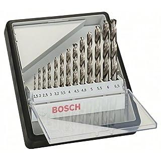 Bosch 2607010538 HSS-G, 135° 13pcs, Silver