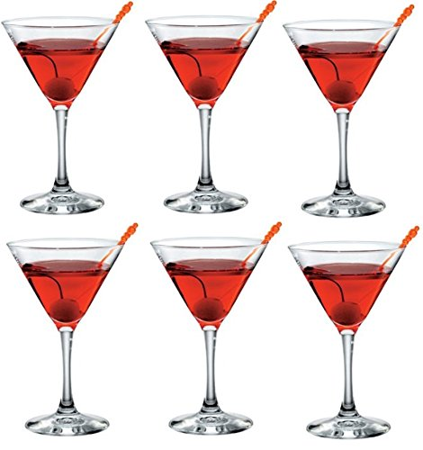 set-of-6-glass-martini-glasses-cocktail-glasses-170ml-by-bormolioli