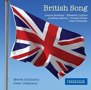 British Song. Mélodies de Berkeley, Lutyens, Harvey, Crosse. Dickinson.
