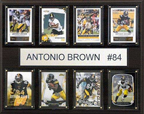 C & I Collectables NFL Pittsburgh Steelers Antonio braun gefaltet Plaque, 12x 15Zoll