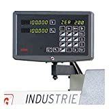 Digitale Positionsanzeige SINO für 3-Achsen bis 2000 mm Spitzenweite, (inkl. Montagepauschale)