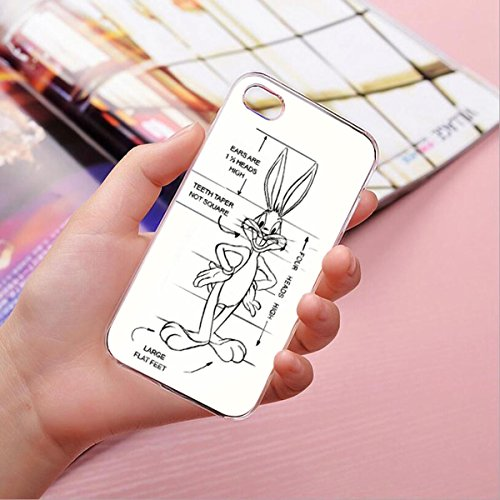 Hardcase Looney Tunes Bugs Bunny Série 1 - What's en haut Doc, Iphone 7 Bugs Bunny Dessin