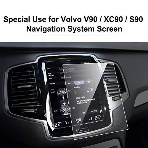LFOTPP Volvo S90 V90 XC90 8,7 Zoll Navigation Schutzfolie - 9H Kratzfest Anti-Fingerprint Panzerglas Displayschutzfolie GPS Navi Folie