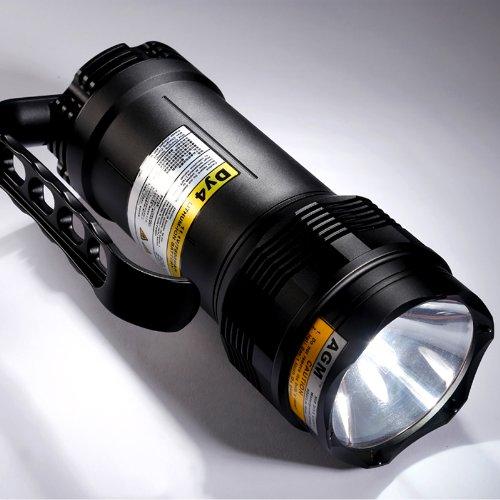 Preisvergleich Produktbild AGM® 5000LM HID Tauchlampe Zoom Handlampe Diving Light Unterwasser Licht Taschenlampe Lampe Leuchtung 65W/45W/35W + 7800mAh Batterie High-Power Lampe