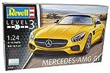 alles-meine.de GmbH Mercedes-Benz AMG GT S Coupe Solar Beam Gelb Ab 2014 07028 Bausatz Kit 1/24 Revell Modell Auto mit individiuellem Wunschkennzeichen