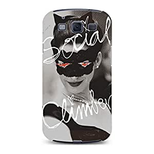 Warner Bros PBWARDKS3521 Catwoman-Social Climber Back Cover for Samsung Galaxy S3 Officially Licensed (Multicolor)
