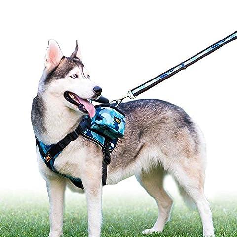 HAVEGET Waterproof Breathable Saddle bag Is Fully Adjustable training Saddle Bag dog Removable Rucksack Travel Carrier Bag Hound Harness Bag for Medium