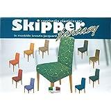 Cubiertas de la silla silla de prendas de vestir en tejido elástico acanalado 2 piezas de fantasía amarillo