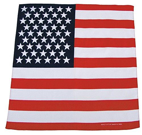 Bandana Biker Kopftuch USA Fahne