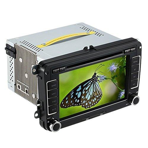 TOOGOO 7 Zoll Hd Digital Touchscreen Auto DVD Player Auto Hd Radio Auto Pc Stereo Head Unit GPS Navigation Multimedia Für Sagitar Jett Passat Cc Skoda -