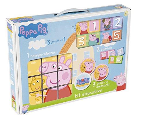 Cefa 88234 - Kit Educativo Peppa Pig