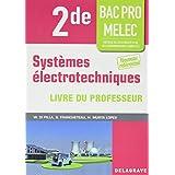 Systèmes électrotechniques 2e bac pro melec professeur