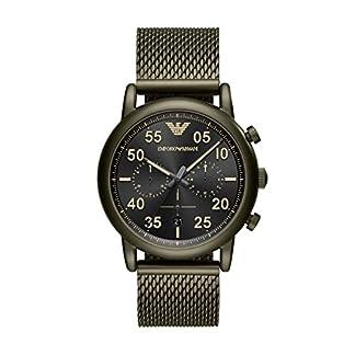 Emporio Armani Reloj Analogico para Hombre de Cuarzo con Correa en Acero Inoxidable AR11115