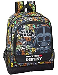 Star Wars Galaxy Oficial Mochila Escolar 320x140x420mm