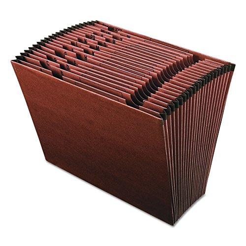 Pendaflex er17a Earthwise Lederoptik Fächermappe, oben offen, A-Z Index, 12x - Index 12 Teiler