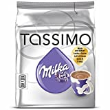 2 X Tassimo T-Discs Milka (16 T-Discs) 'Hot chocolate flavour drink & Creamer from Milk' (8 servings) by Bosch