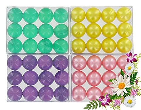 4 boxes of 12 bath pearls - Flowers batch