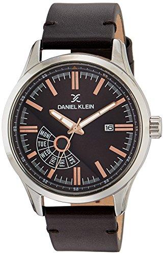 Daniel Klein Analog Brown Dial Men's Watch - DK11499-3