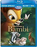 Bambi - Edition spéciale 2 Disques Combo Pack (Blu-ray + DVD) [EDITION SUISSE] [Import italien]