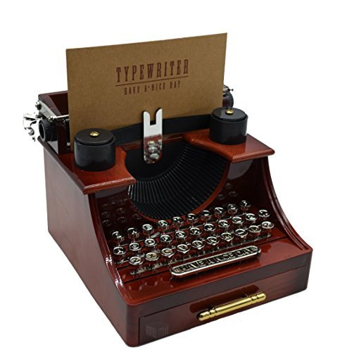 MAYMII Vintage Typewriter Music Box for Home/Office/Study Room Décor Decoration by MAYMII