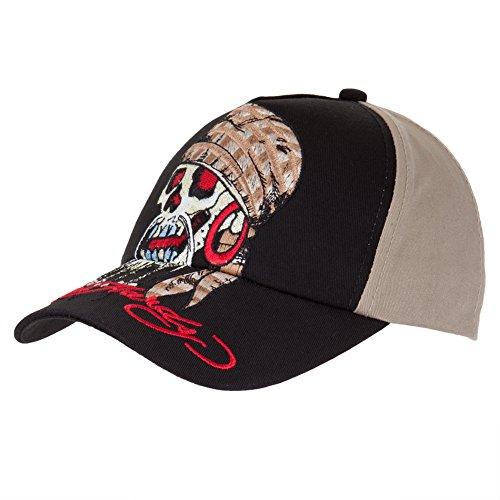 Ed Hardy-Skull Pirate Youth Baseball-Kappe größenverstellbar