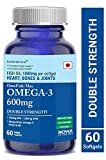 Carbamide Forte Omega 3 Fish Oil 1000mg Double Strength (330mg EPA & 220mg DHA) - 60 Softgels
