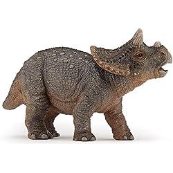 Papo - Triceratops, figura de dinosaurio pintada a mano (2055036)