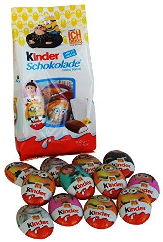 Kinder Schokolade Minions - Ich Einfach unverbesserlich 3 - Schokoladentaler, 1er Pack (1 x (Kostüme Minion Frauen)