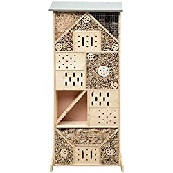 Gardigo - Hôtel à Insectes en Bois XXXL; 120 x 50 x 14,5 cm