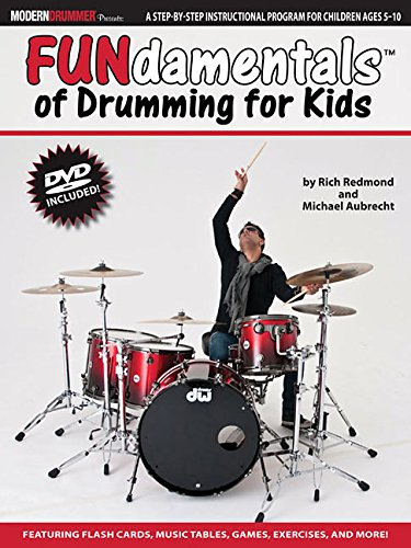 Fundamentals(tm) of drumming for kids livre sur la musique+DVD