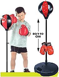 KidsHobby® Enfants / Junior / Enfants permanent punching ball + Gants de boxe Jouet