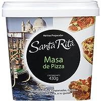 Santa Rita Harina para Masa de Pizza - 6 Paquetes de 430 gr - Total: