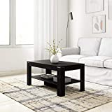 Amazon Brand - Solimo Ginger Engineered Wood Coffee Table (Espresso Finish)