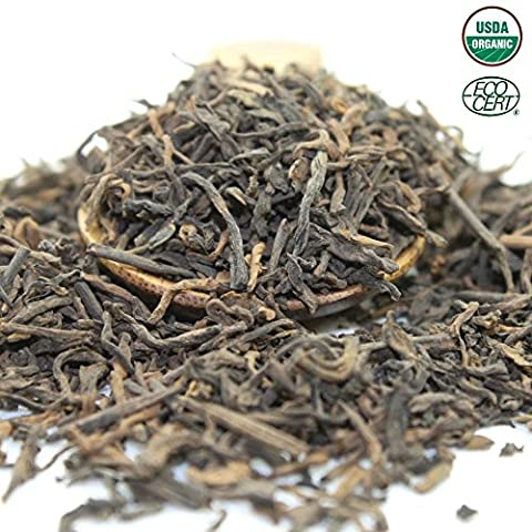 Tealyra - 5 Years Aged - Pu erh Ripe - Loose Leaf Tea - 100% Natural And Organically Grown - Caffeine Level High - Loose Weight Tea - Healthy Tea -