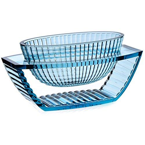 Kartell 1218E4 Vase Shine u (Bleu)