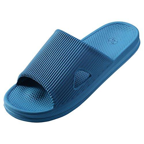 WILLIAM&KATE Zapatillas Ligeras Para el hogar Zapatillas de Baño Para Hombres y Mujeres Zapatillas Antideslizantes Para el Baño Interior hlzvzcY