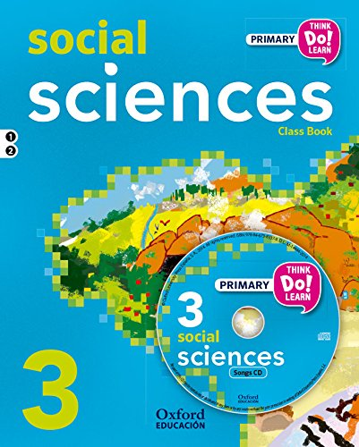 Think Do Learn Social Science 3º Pack (Libro y CD) - 9788467383591