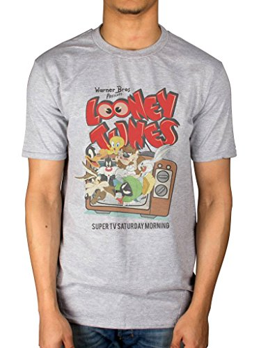 Official Looney Tunes Retro TV T-Shirt