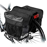 Hebey Pannier Bag Waterproof Bike Rear Seat Trunk Bag Bicycle Rear Saddle Panniers