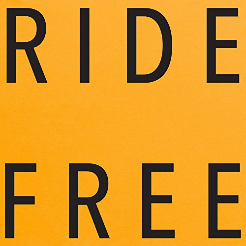 Ride Free T-Shirt, Herren Gelb
