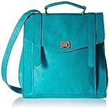 Baggit Women's Messenger Bag (Aqua)