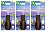 Air Wick Aroma-Öl Flakon Entspanneder Lavendel 3er Pack (3 x 20ml), Nachfüller für Aroma-Öl Diffuser