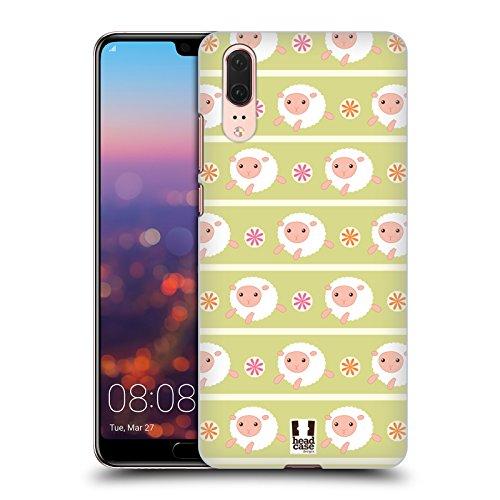Head Case Designs Schaf Putzige Tiermuster Ruckseite Hülle für Huawei P20