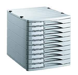 rotho 1107106189 schubladenbox b robox profiline aus kunststoff ps 10 geschlossene sch be a4. Black Bedroom Furniture Sets. Home Design Ideas