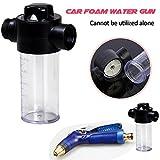 fiveschoice Auto Schaumstoff Gun, Auto Reinigung Schaumstoff foamaster Gun Wasser Waschen Seife Shampoo Spritze 100ml