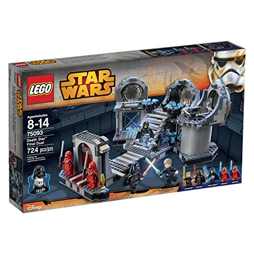 Preisvergleich Produktbild LEGO Star Wars Death Star Final Duel 75093 Building Kit by LEGO