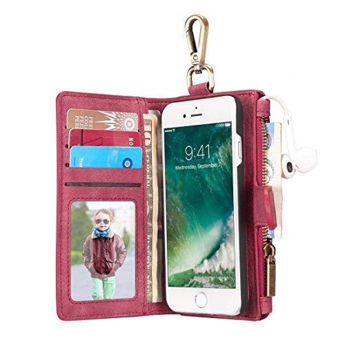 Proteggi il tuo iPhone, G4 / G9 / E12 / BA15D 7W 80SMD 5730 450LM caldo / freddo LED Bianco dimmerabili AC 110-130V 5Pcs Per il cellulare di Iphone ( Colore : Blu ) Rosso
